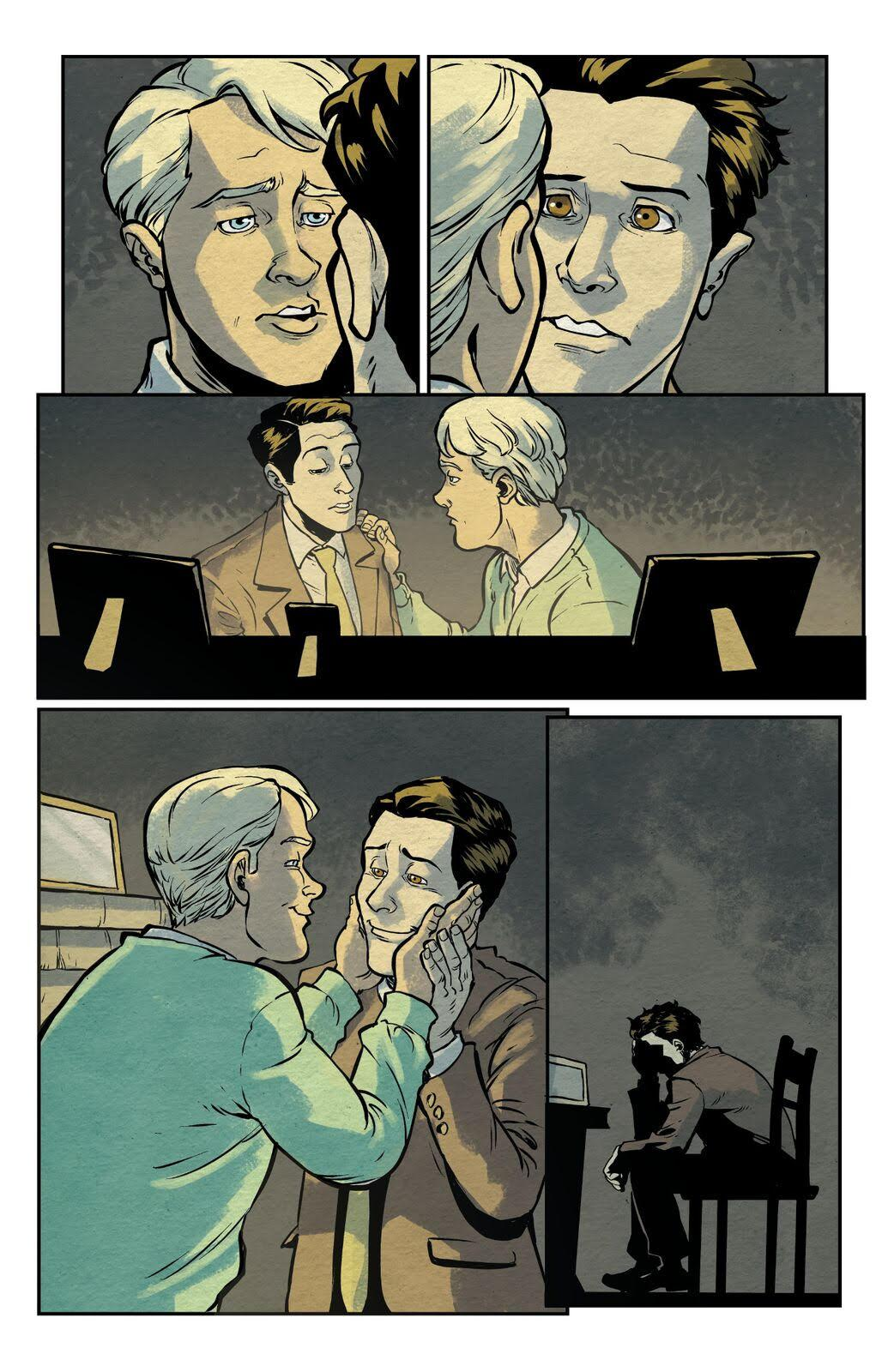 A page from 'Dash,' a comic from Northwest Press.