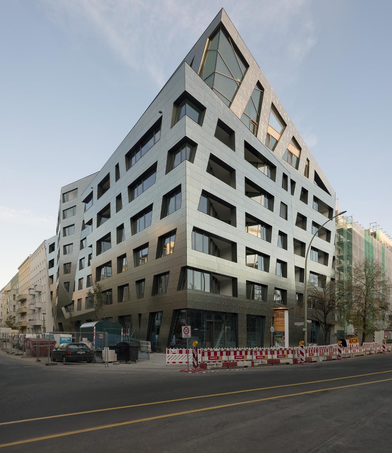Technology helped Studio Libeskind balance strict building codes and a desire to create individually designed spaces in the Sapphire apartment building in Berlin.