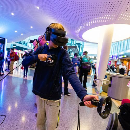 The mind-blowing world of location-based VR
