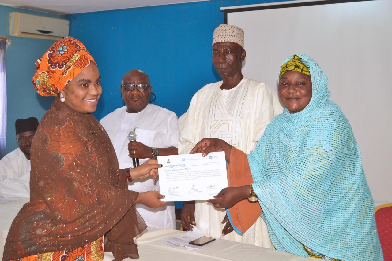 Mashrou3i teachers in Nigeria completing their training so they can start nurturing a new crop of entrepreneurs.