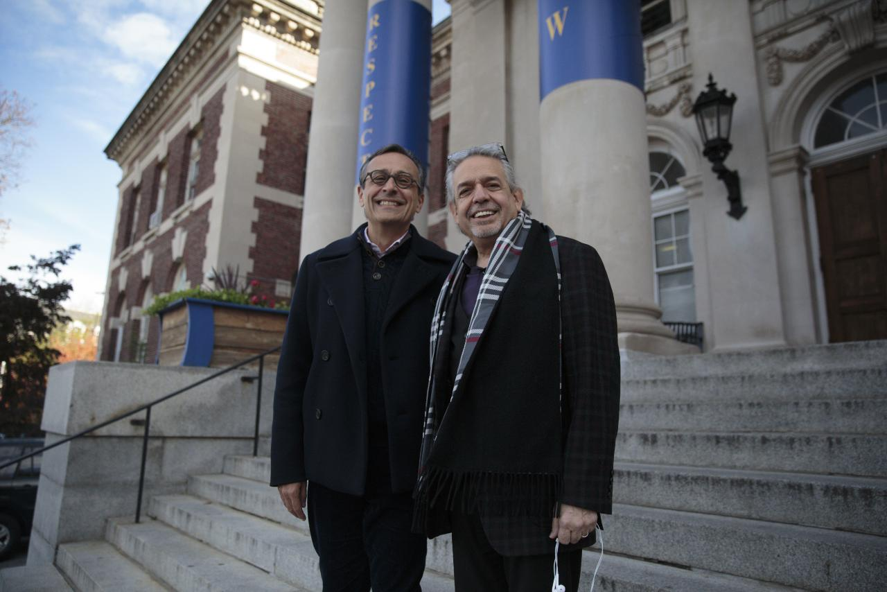 "A couple of lines in the Broadway hip hop sensation ""Hamilton,"" led to a happy collaboration between HP's CMO Antonio Lucio and Luis Miranda at the Graham School."