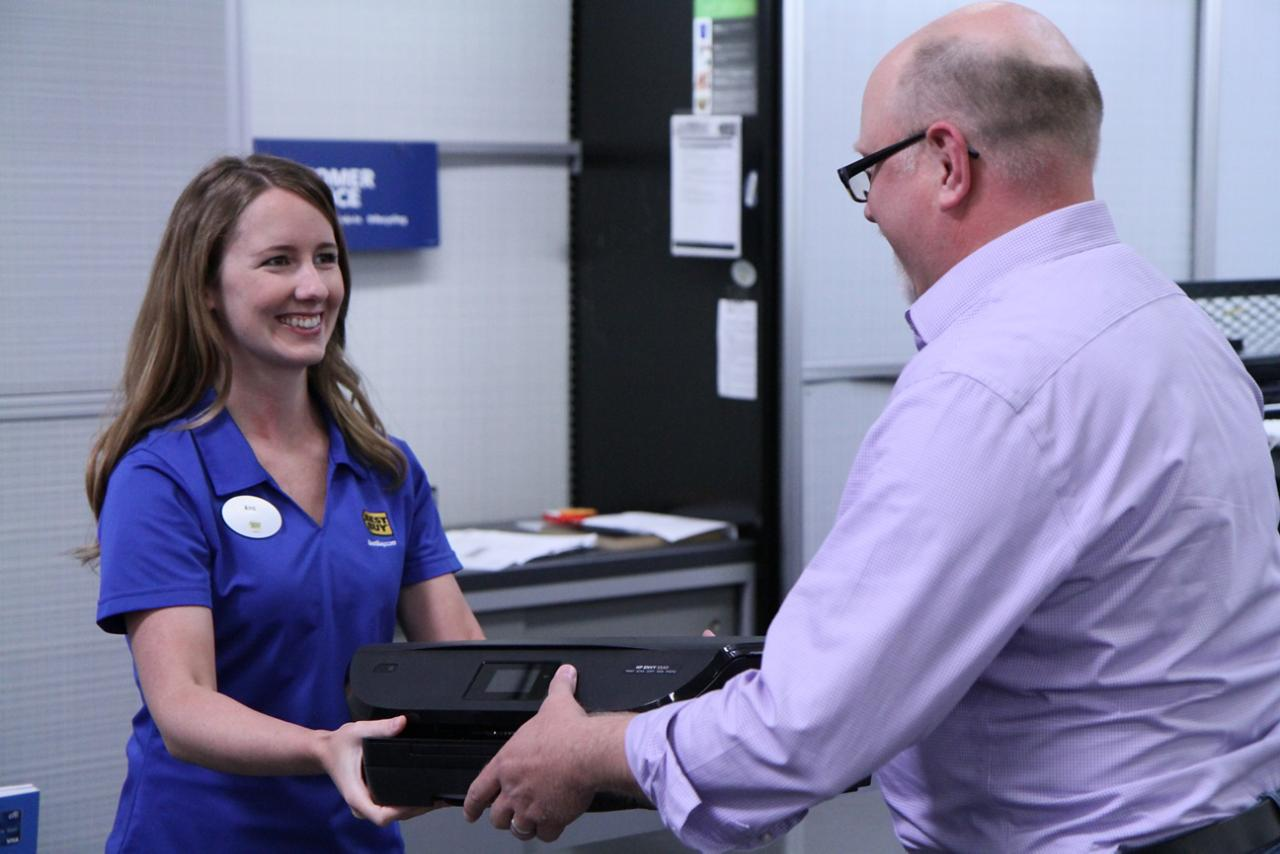 Best Buy's electronics recycling program, the largest in the U.S., was key to helping HP expand its pioneering closed loop recycling program to hardware, starting with printers.