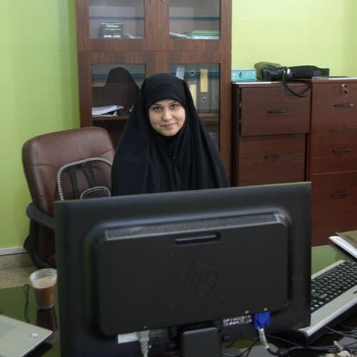Lebanese computer teacher, Amal.