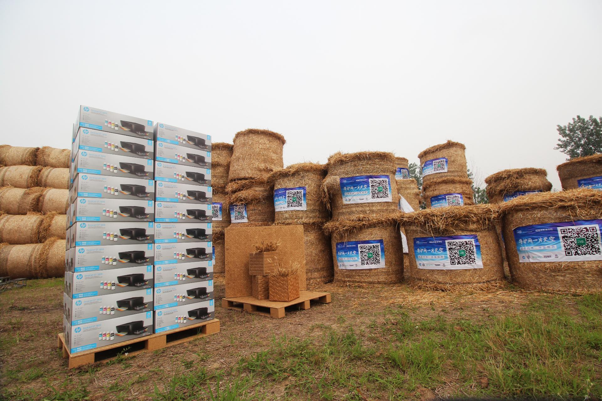 Spinning Straw Into Packaging Gold In China