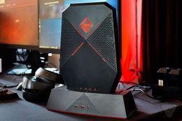 OMEN Compact Desktop with dock. Photo credit: The Verge