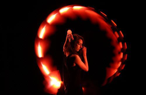 """Eric Pare's """"light painting"""""""