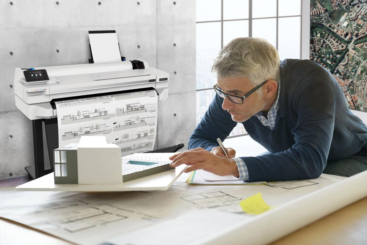 HP Reinvents Print Experiences for Architecture, Engineering