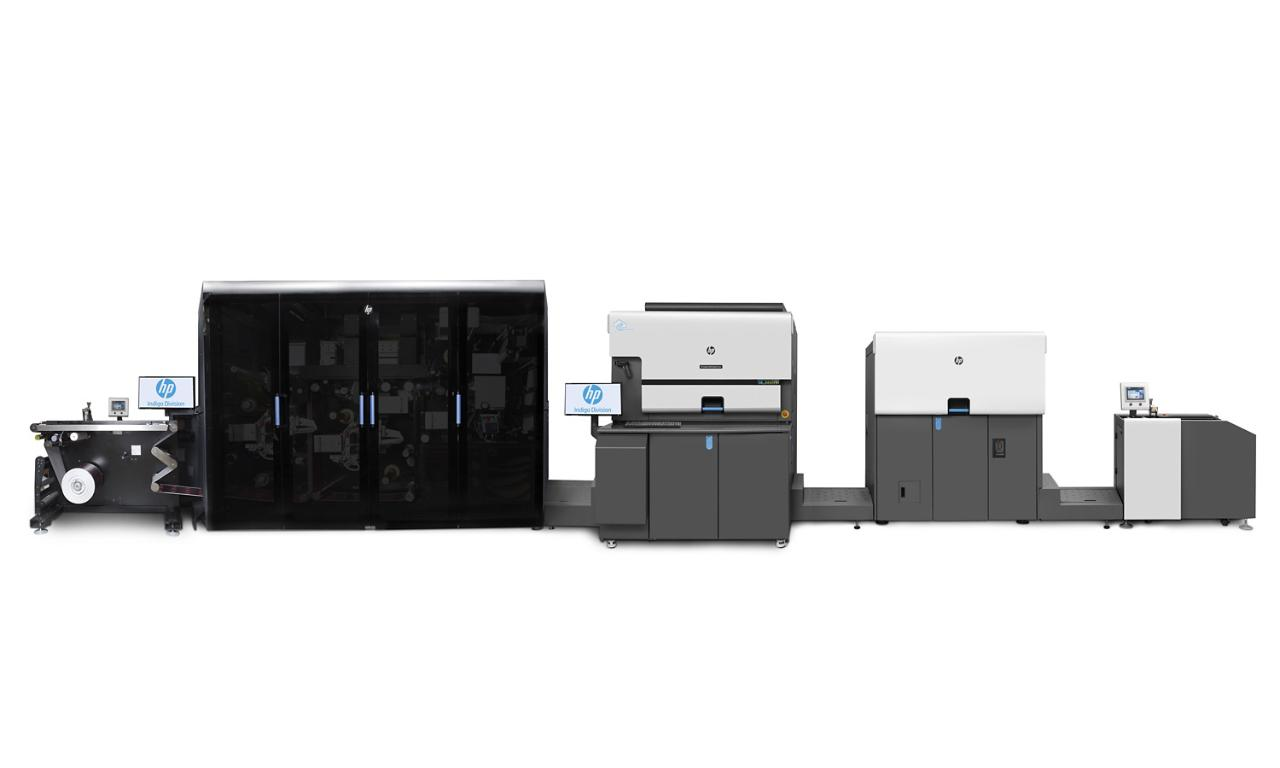 HP Indigo 6900 Digital Press with GEM